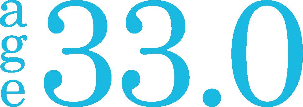 age 33.0